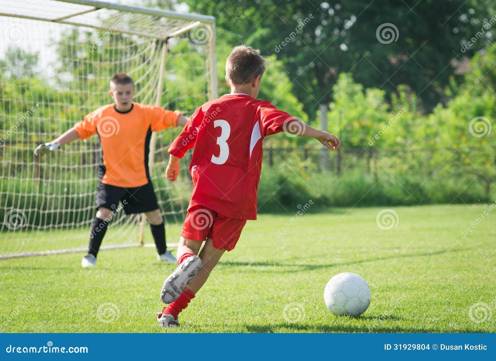 Football Wallpaper Soccer Ball Sport Goal Kids Boys: Kids' Soccer Stock Images