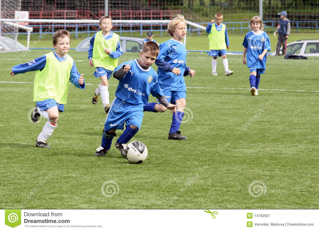 kids soccer match