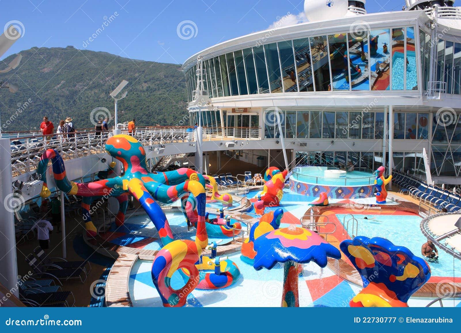 Kids Splash Zone Onboard Oasis Of The Seas Editorial