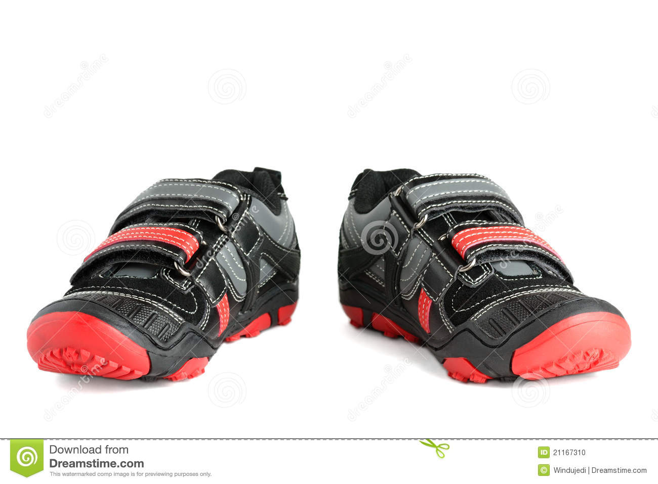 Kids Sports Shoes Stock Photo - Image: 21167310