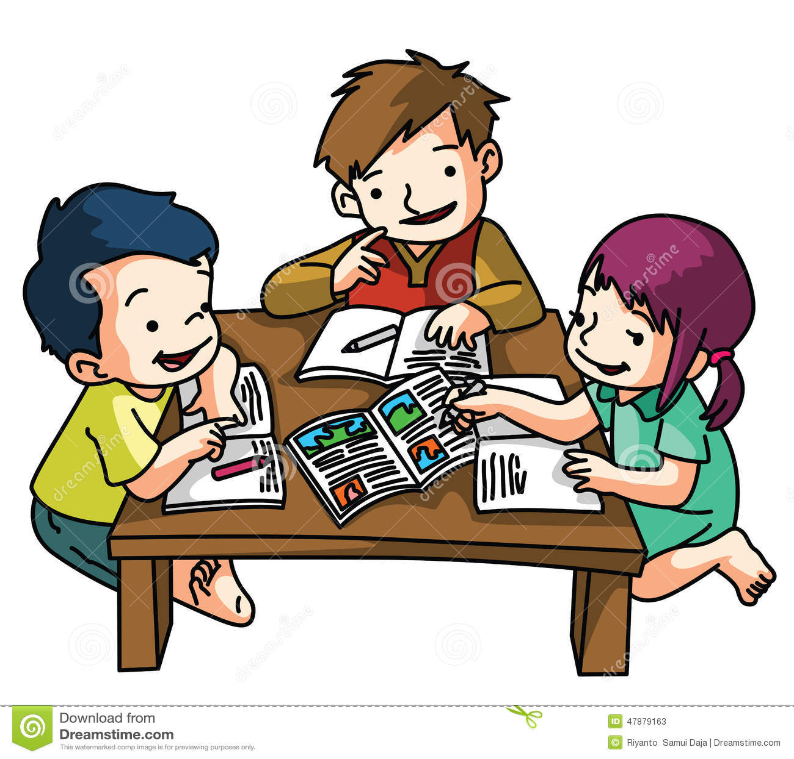 how to help kids study