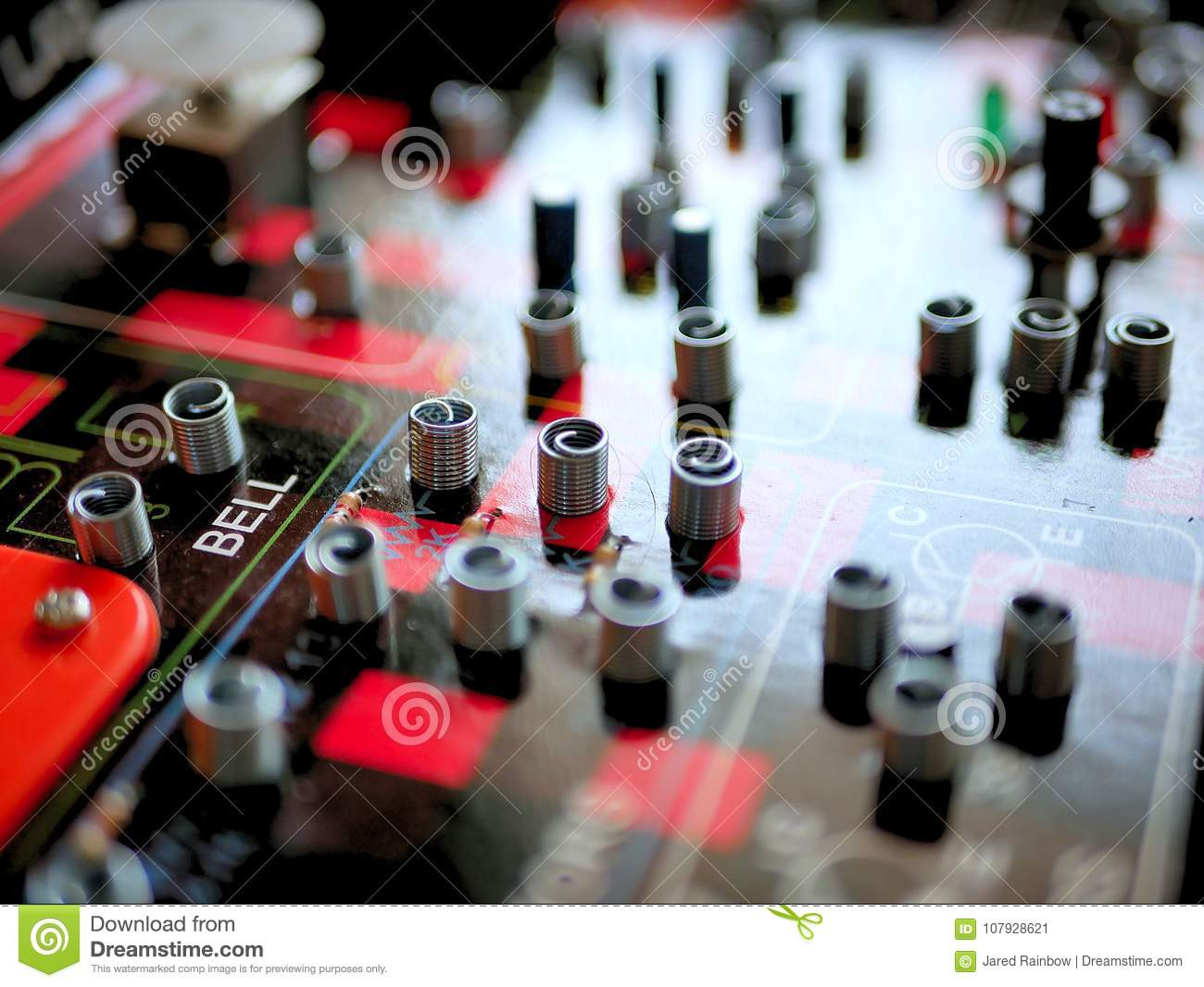 Science And Technology Electrical Circuit Board Game Stock Image Circuits