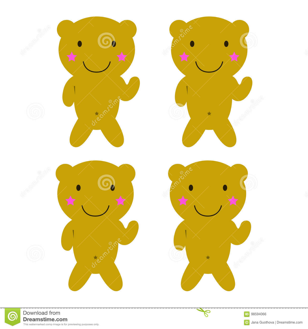Free Emo Teddy Bear Coloring Pages, Download Free Clip Art, Free ... | 1390x1300