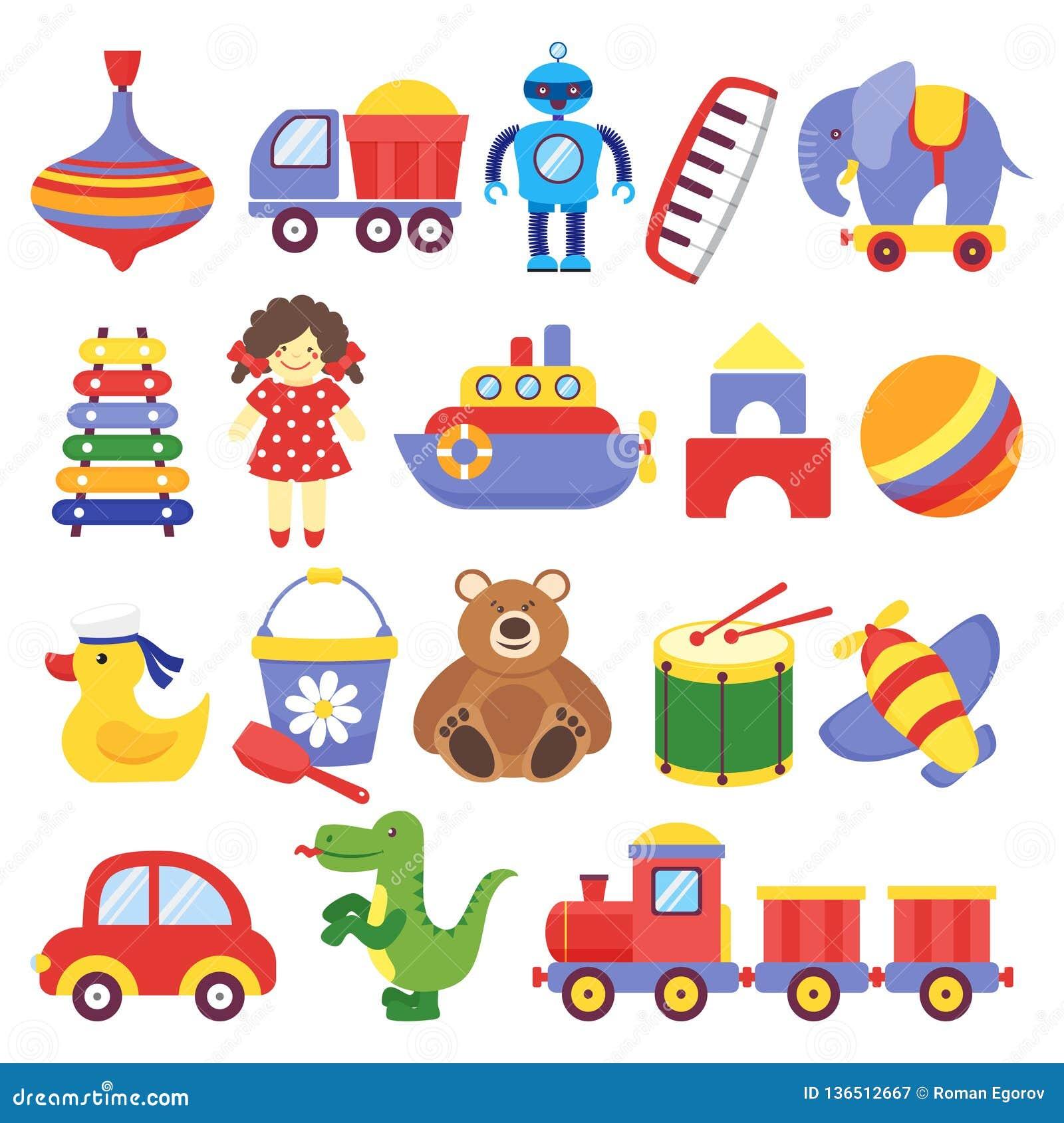 Kids Toys. Game Toy Peg-top Teddy Bear Drum Yellow ...