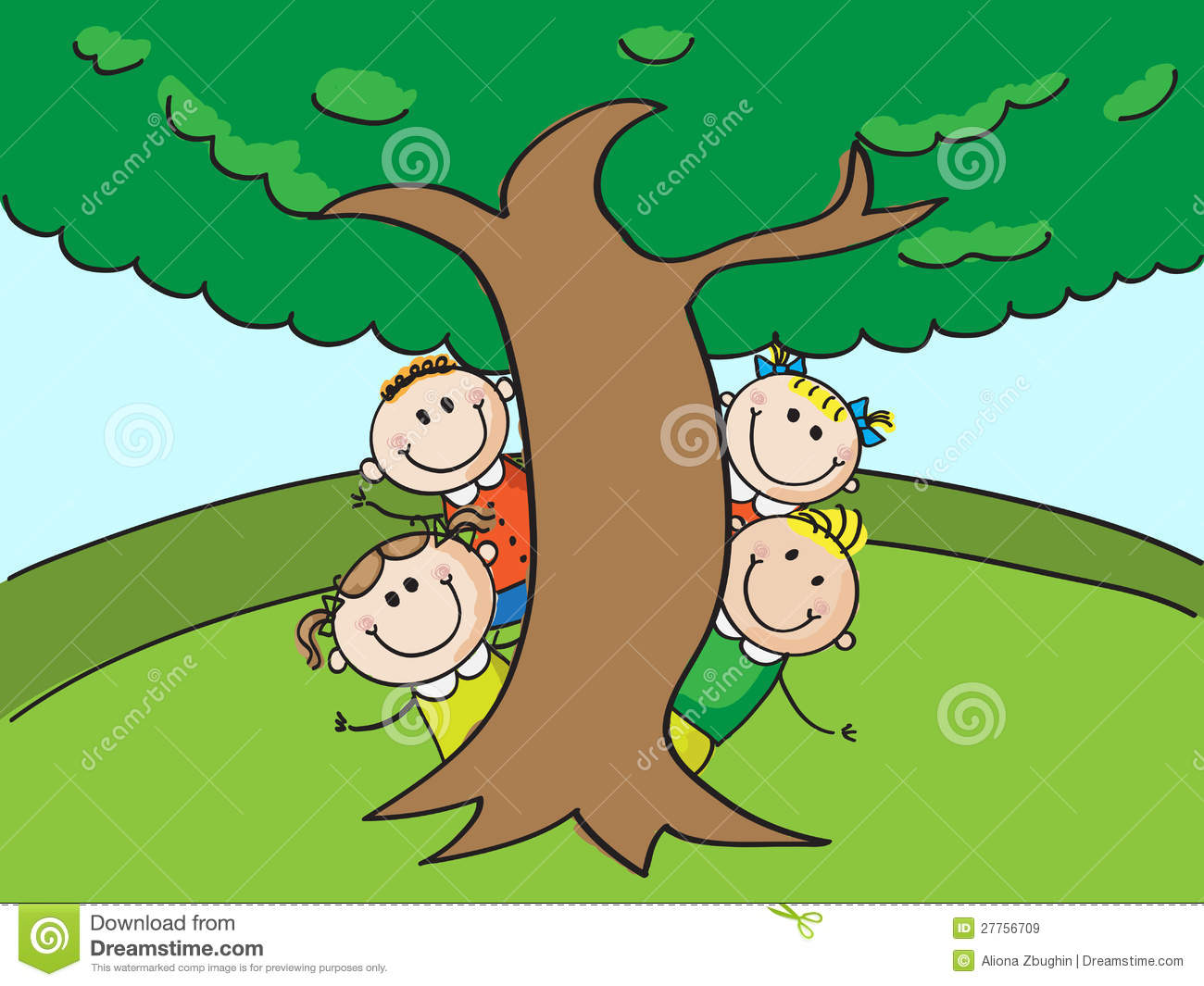 Tree Planting Clipart