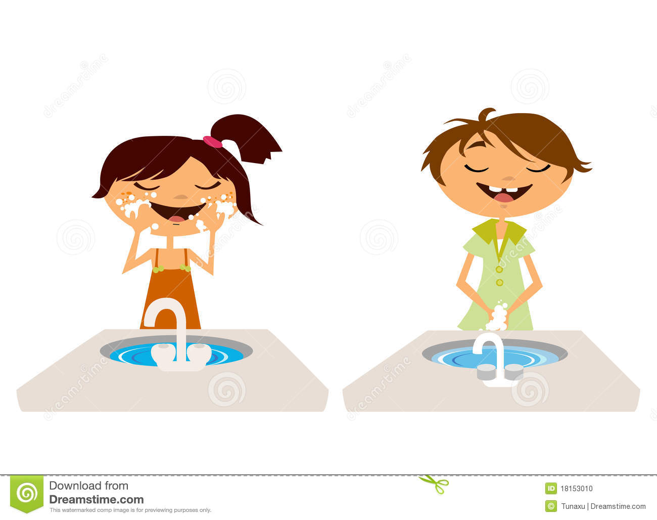 kids washing face and hand stock photo image 18153010 purim clipart free purim clipart costume