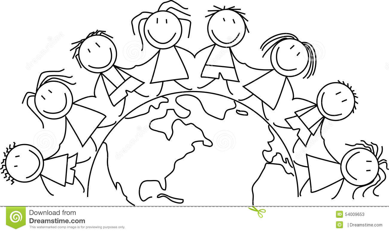 We Are People Of God S Peace Coloring Page