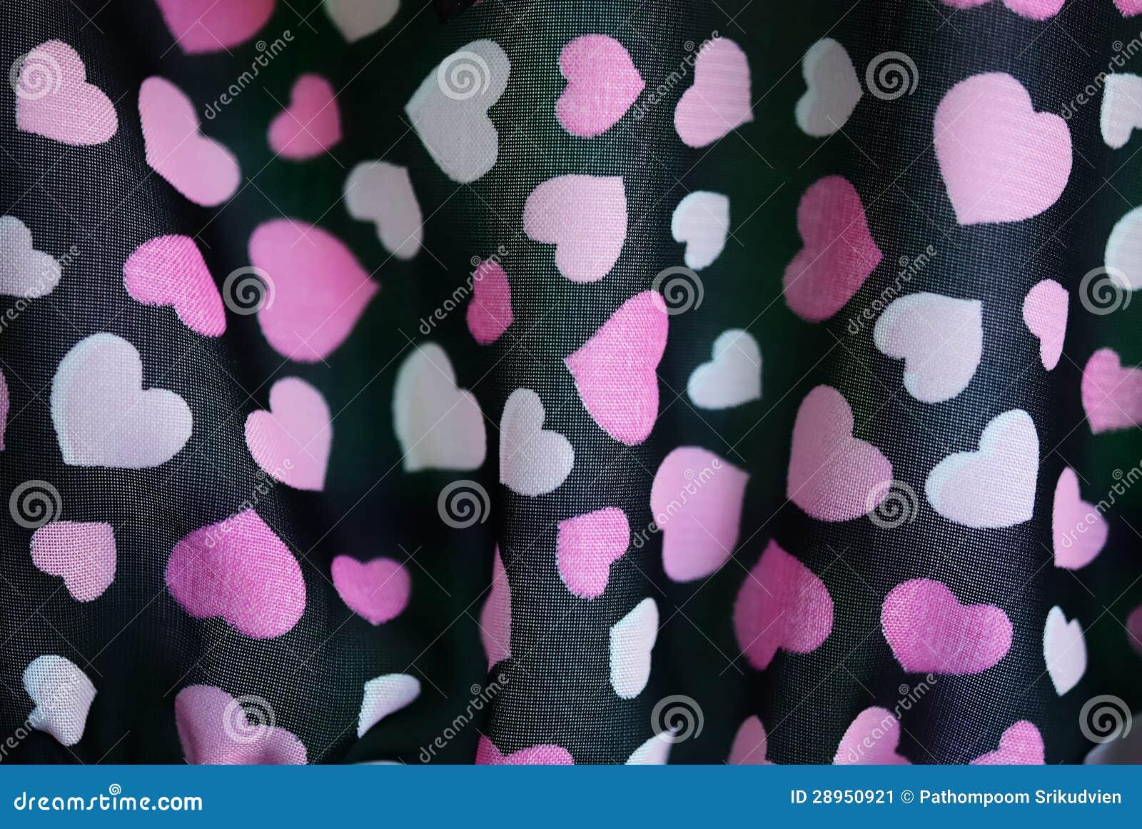 Kierowa tekstura na tkaninie
