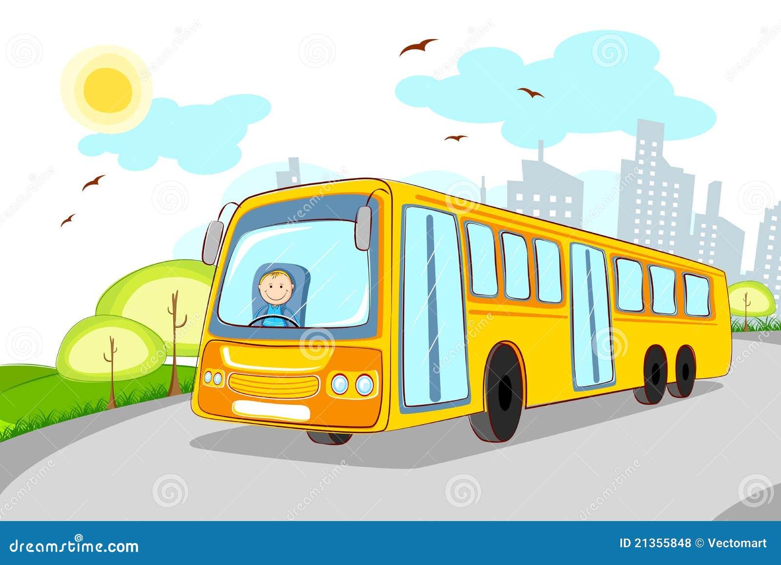 Kierowca autobusu szkoła