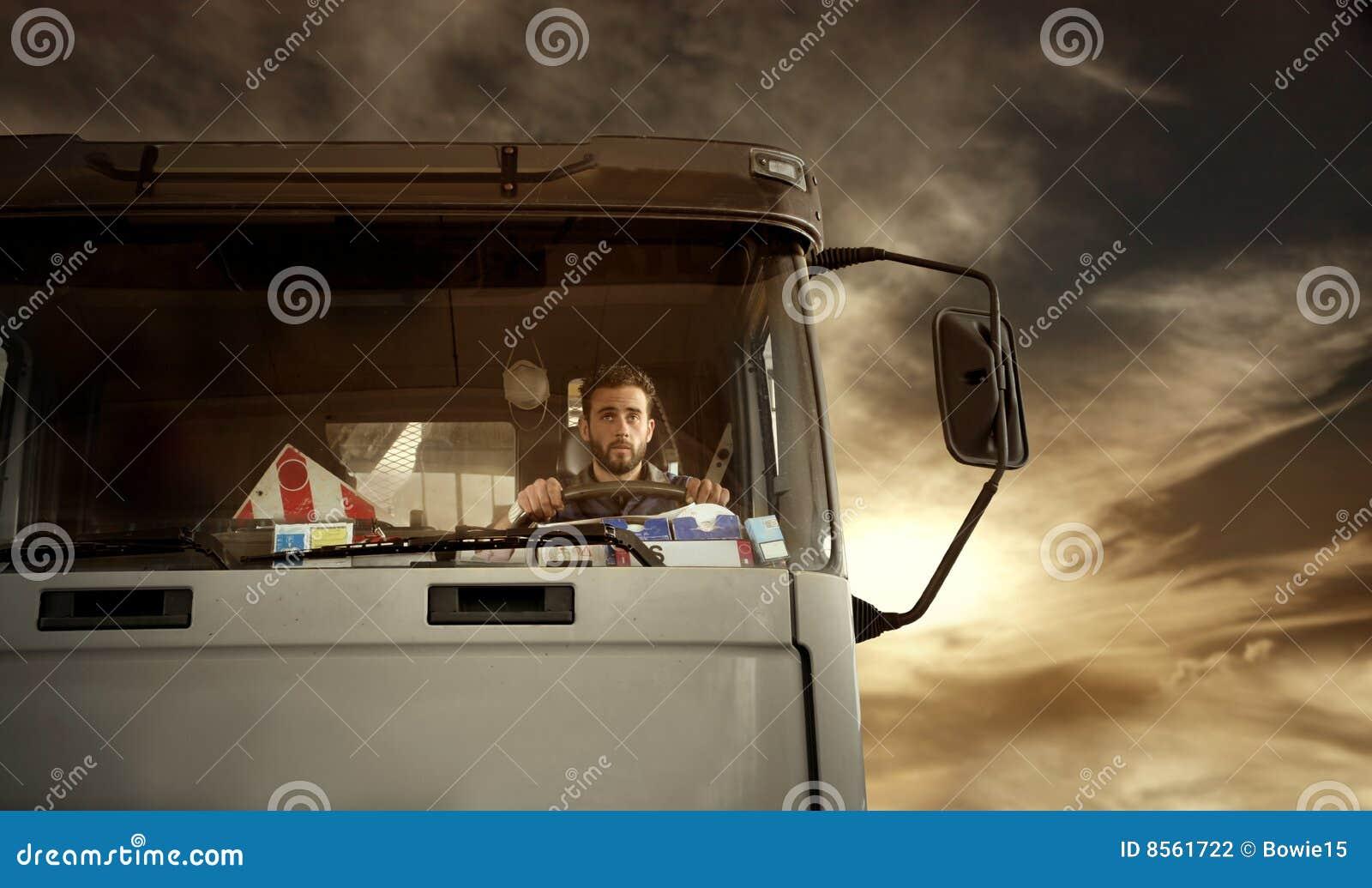 Kierowca ciężarówka