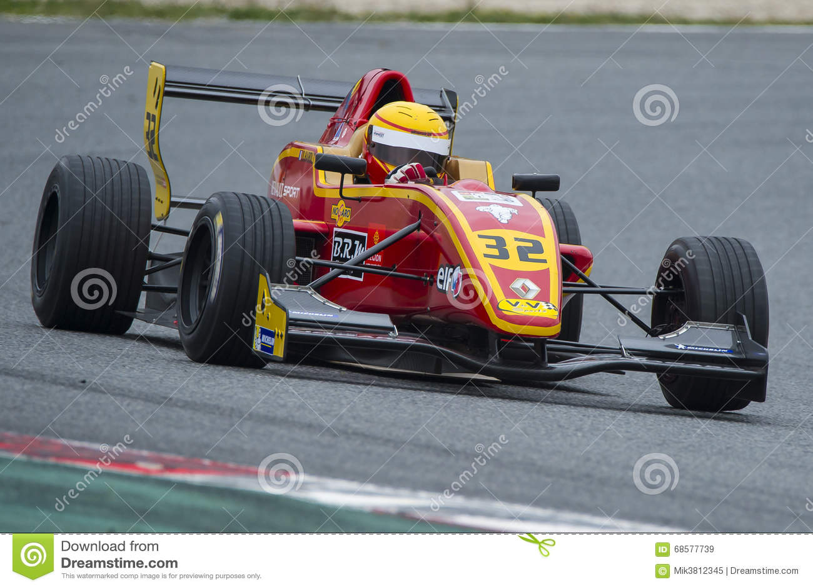 Kierowca Daniel Harout Wyzwanie formuła