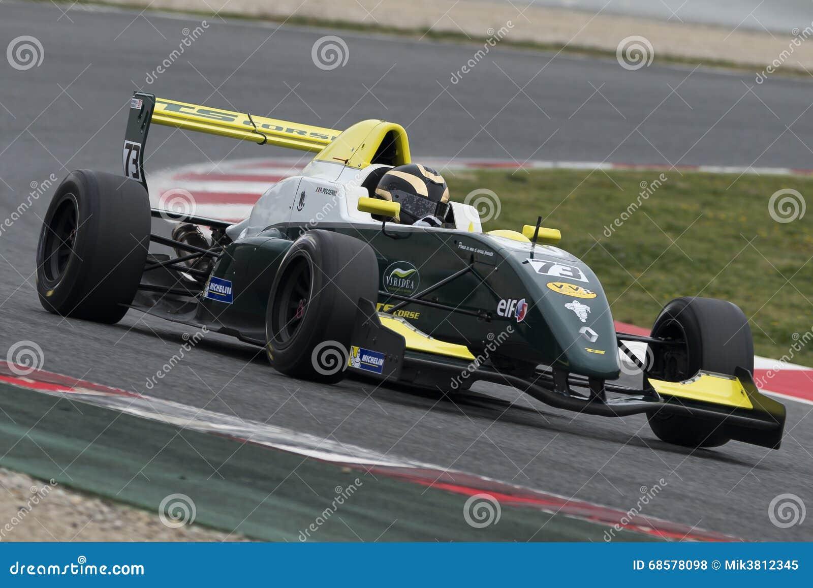 Kierowca Pietro Peccenini Wyzwanie formuła