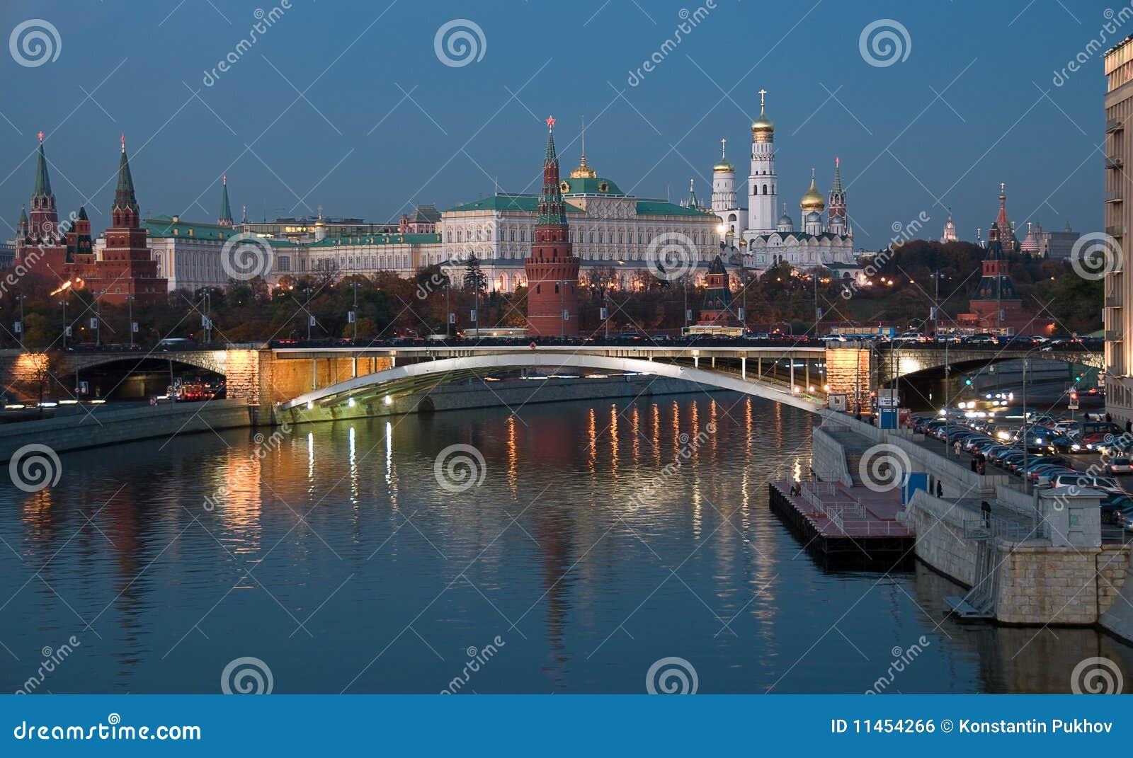 Kierowy noc Russia widok