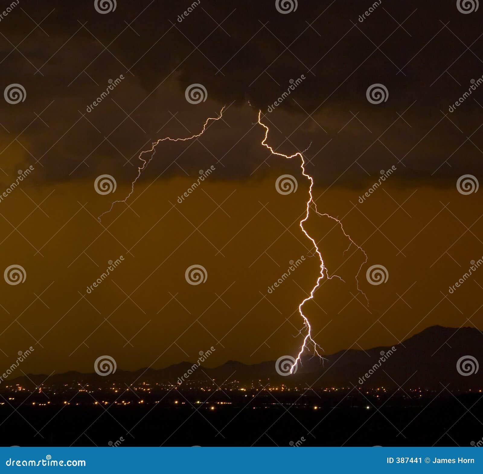 Kiesiger Blitz
