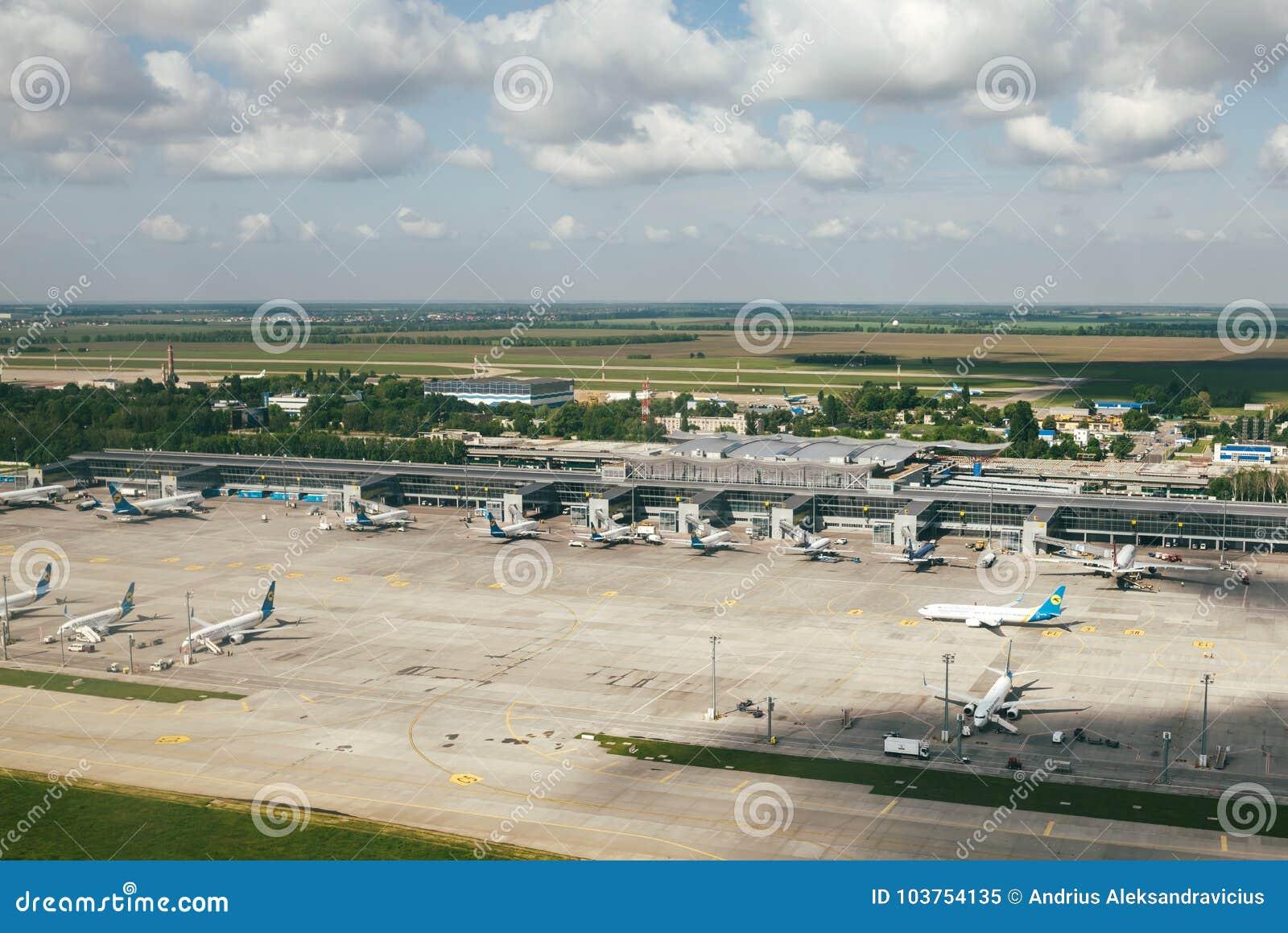 Aeroporto Kiev : Kiev boryspil airport editorial image image of airport