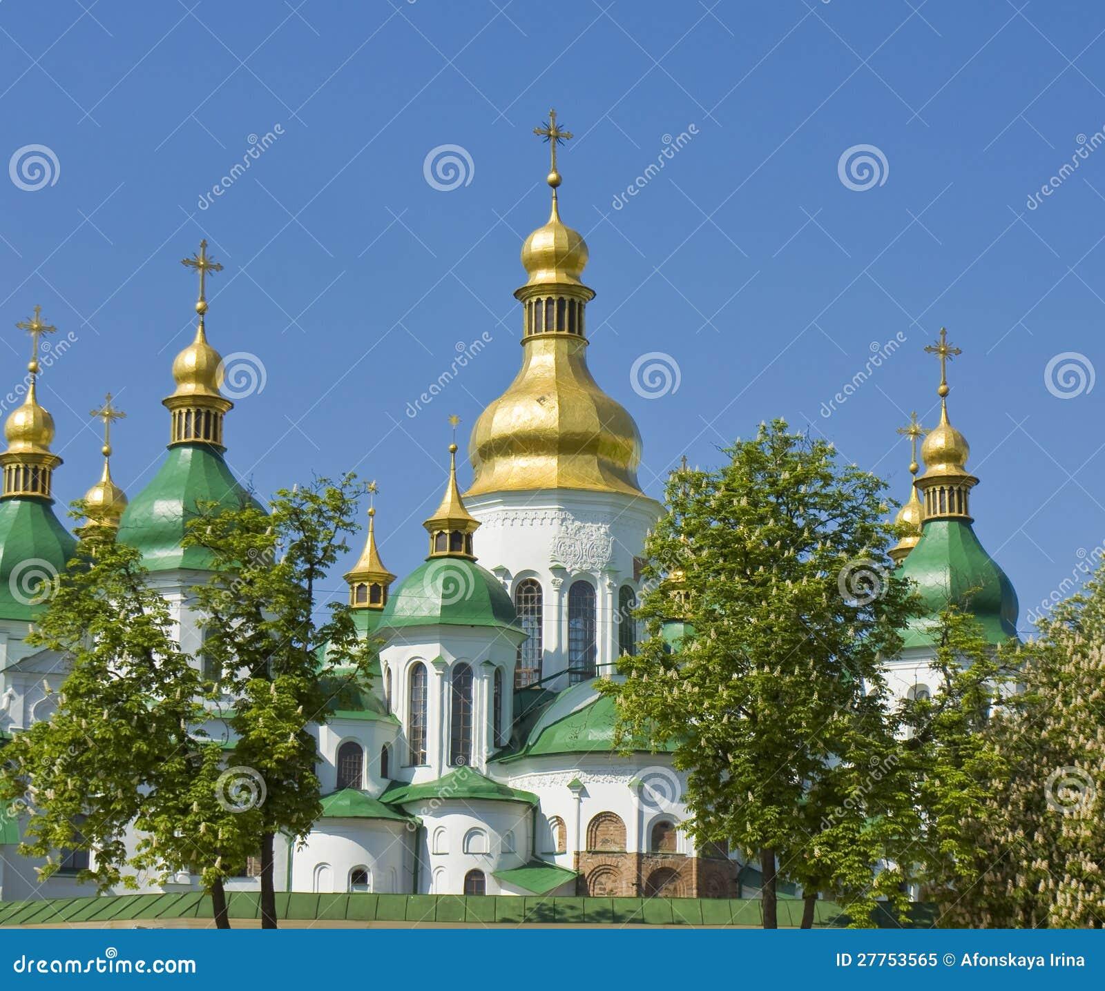 Kiev, cathédrale de rue Sofiya