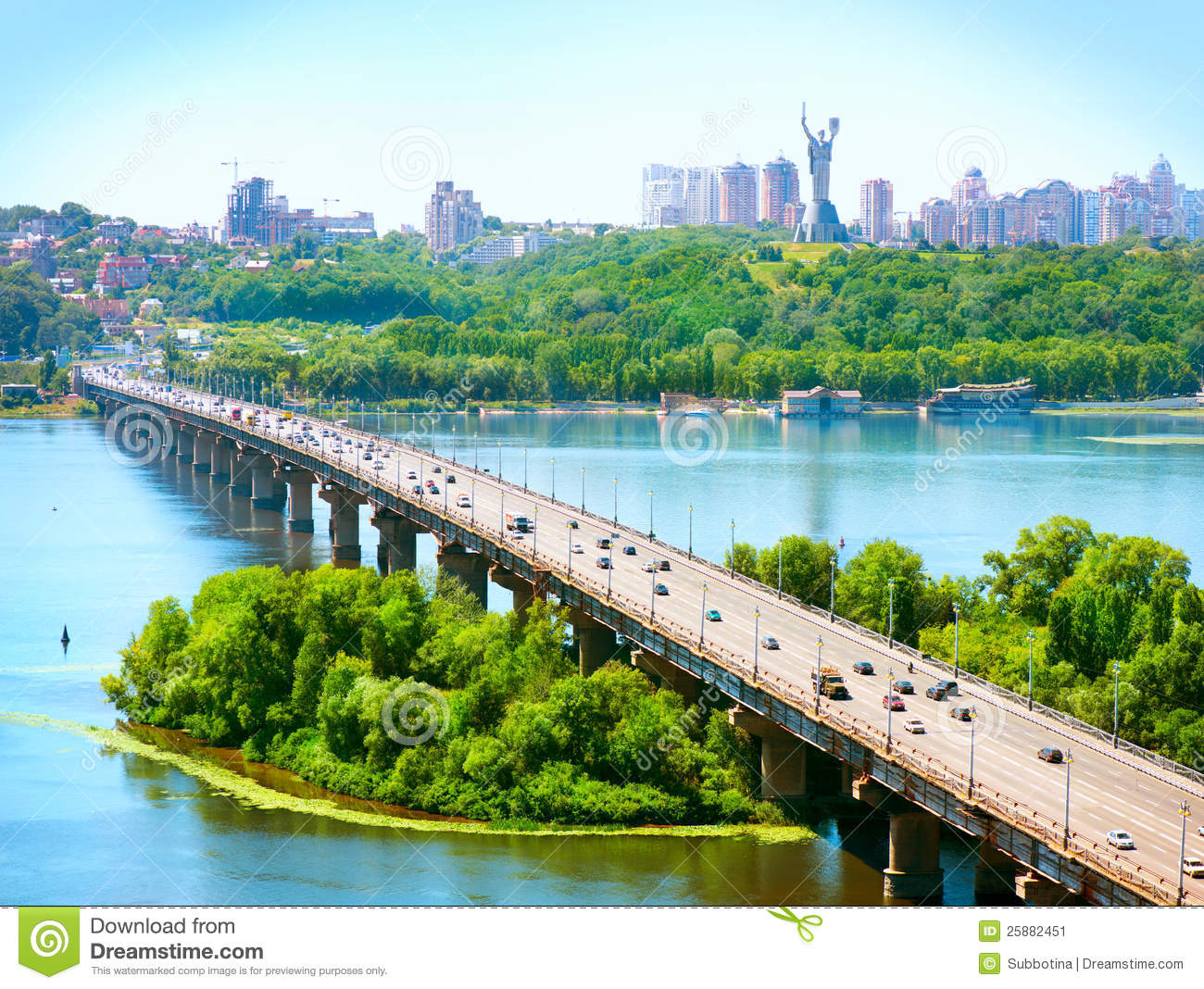 Kiev City - the capital of Ukraine