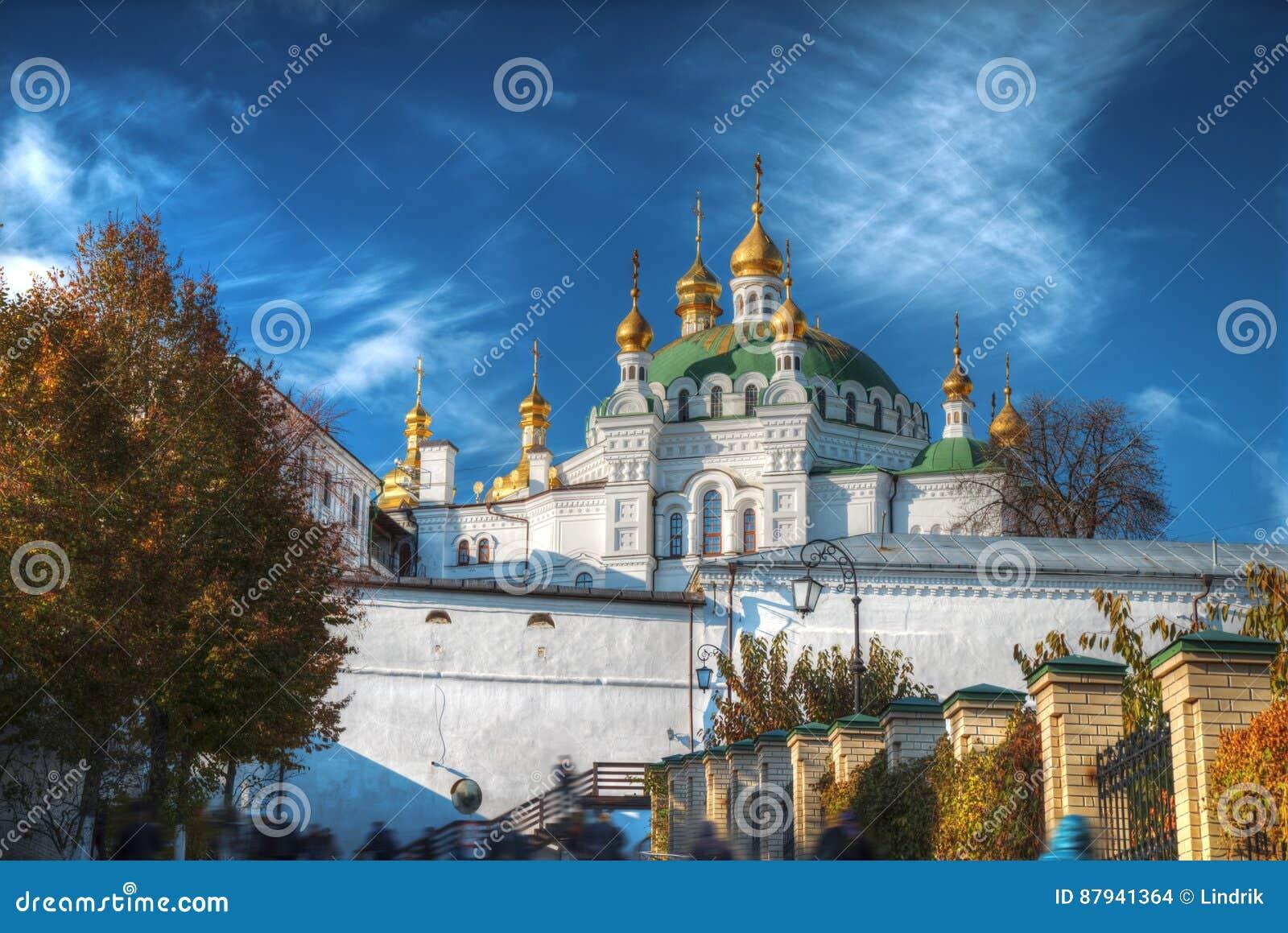 Kiev lavra pechersk widok