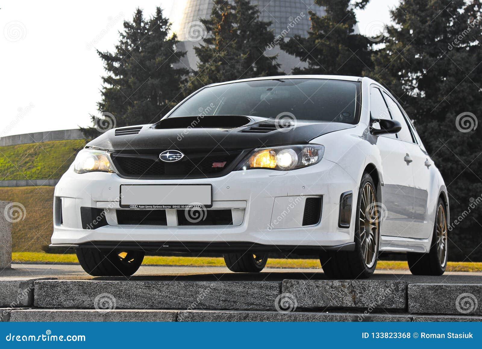 Kiev, Ucraina; 20 gennaio 2014 STI di Subaru Impreza WRX