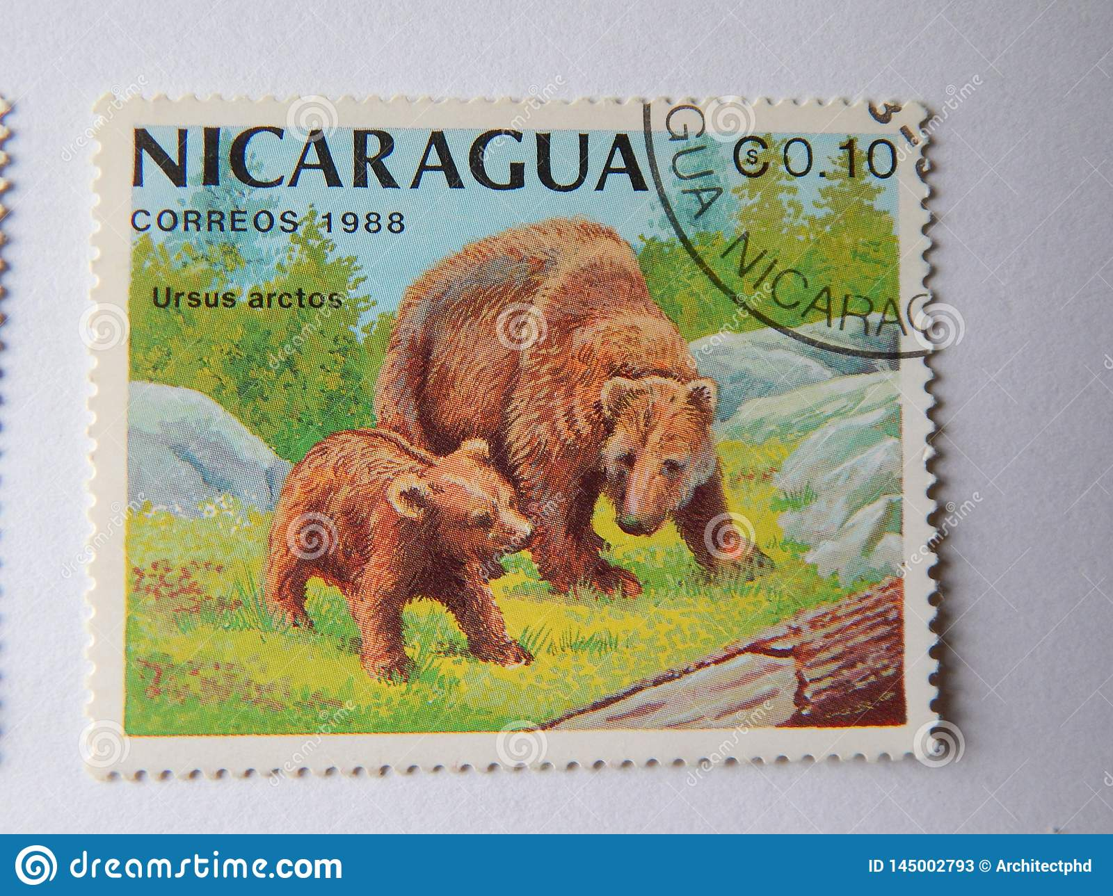 KIEV, UKRAINE - APRIL 16, 2019: Collection of postage stamps with animals