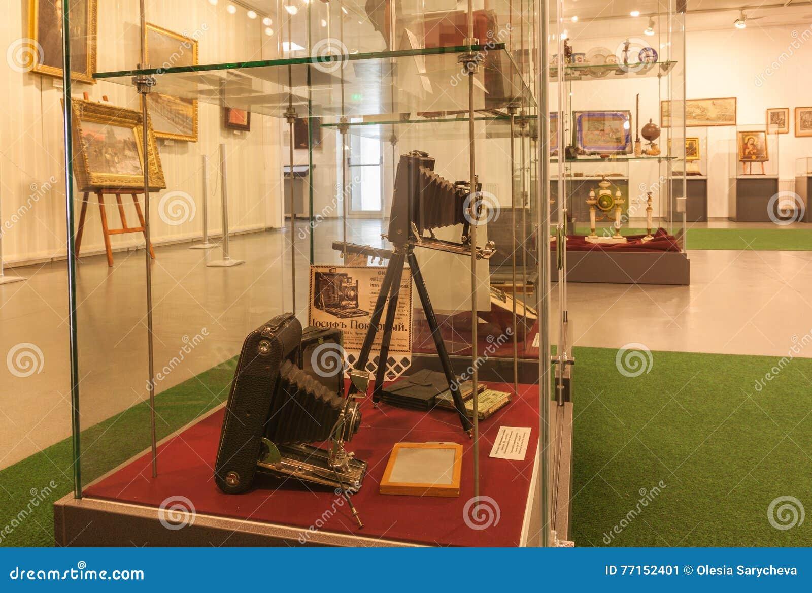 KIEV, UKRAINE : L exposition du musée de l histoire de Kiev K
