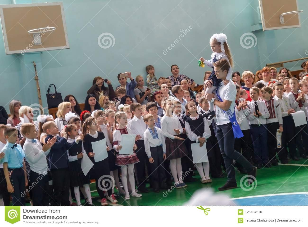 How will take first-graders in Kiev schools