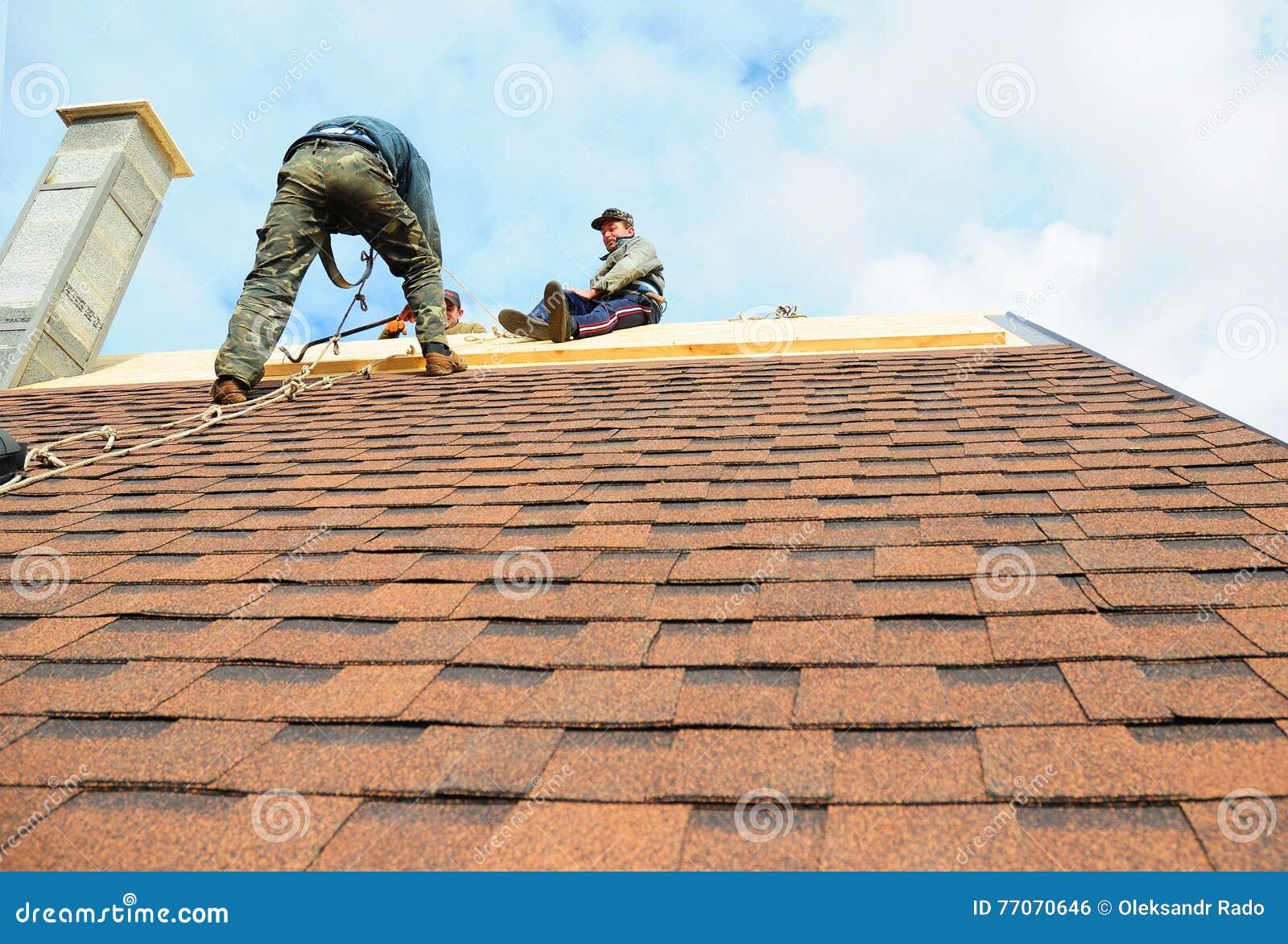 Kiev Ukraine October 18 2016 Roofing Contractors