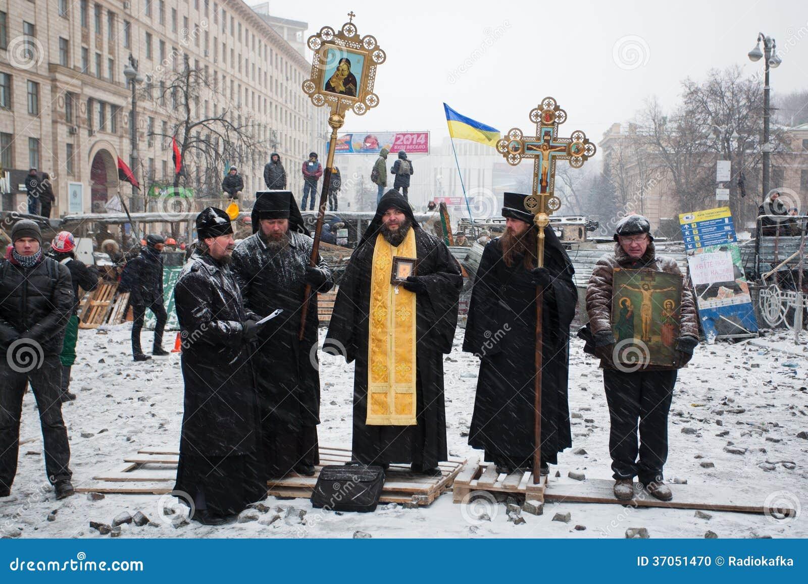 Young Automotive Group >> KIEV, UKRAINE: Priests Of Ukrainian Orthodox Churc ...