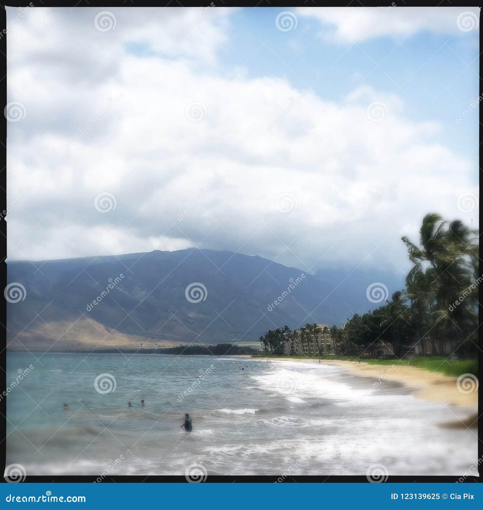 Kiheistrand in Hawaï