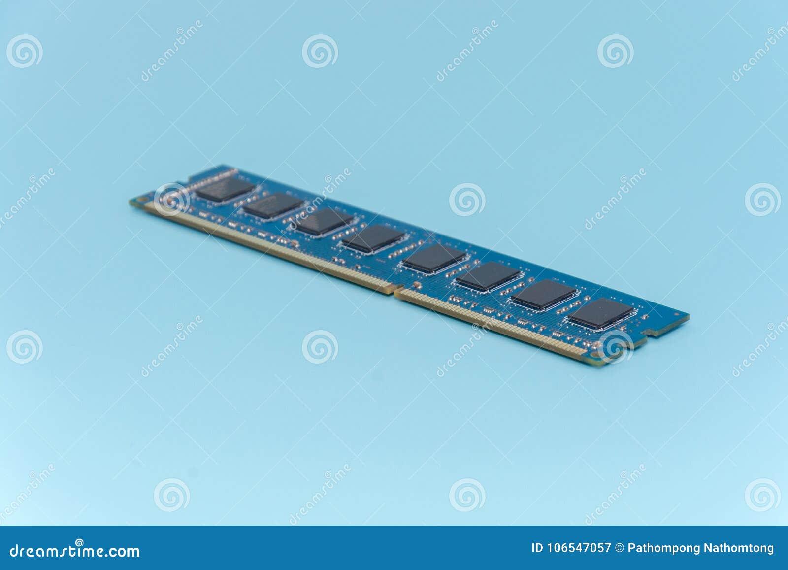 Kij komputerowa przypadkowa dojazdowa pamięć RAM