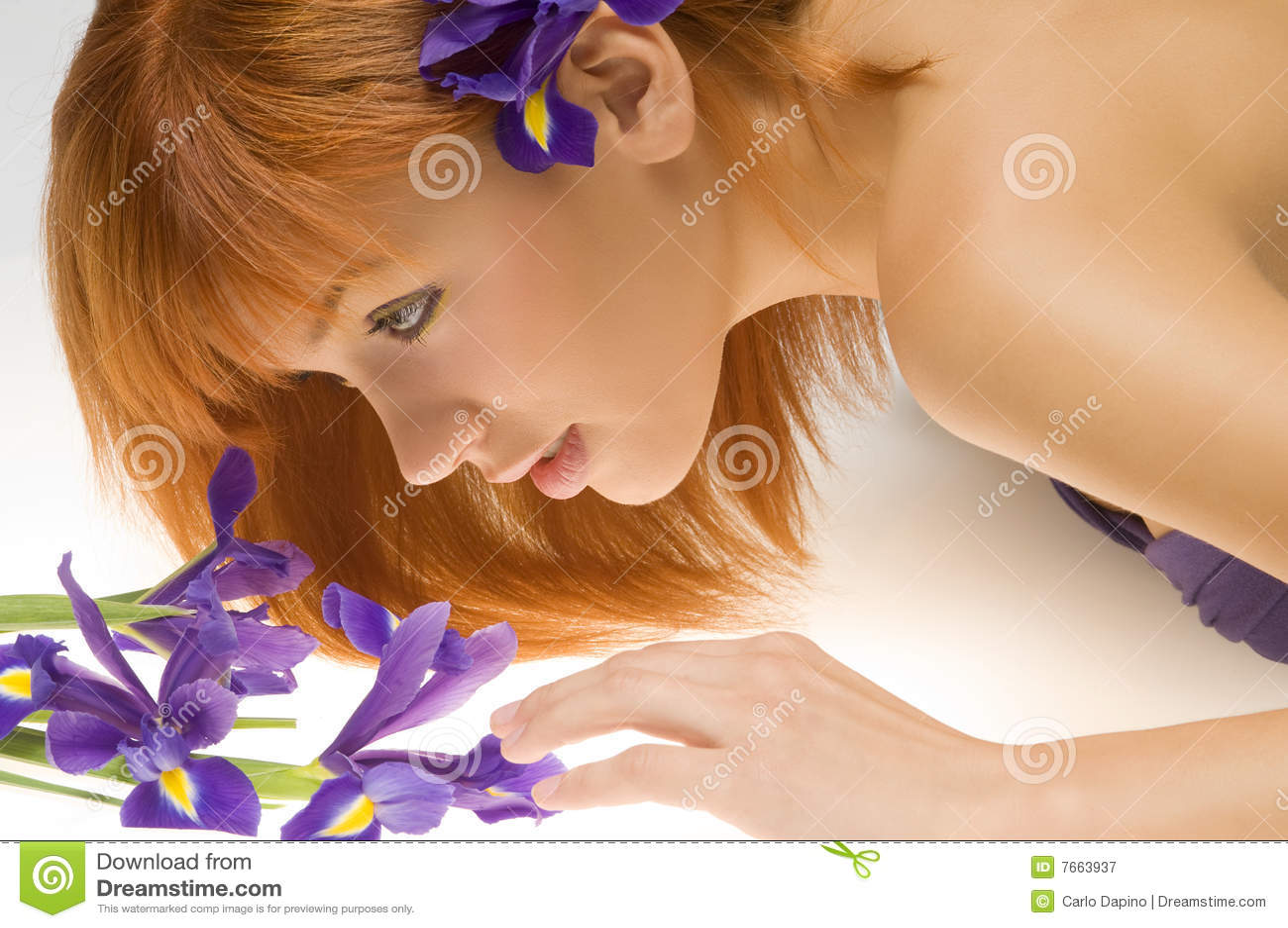 Kijkend bloem