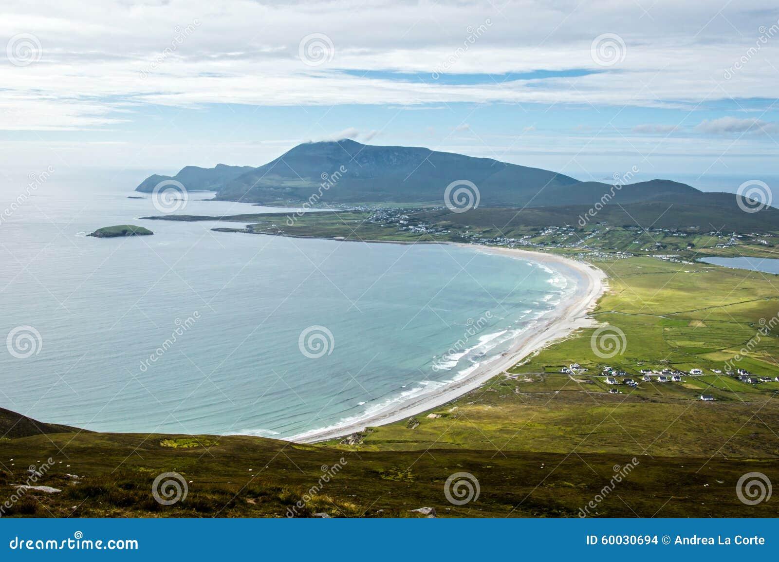 Kil plaża, Achill wyspa, Irlandia