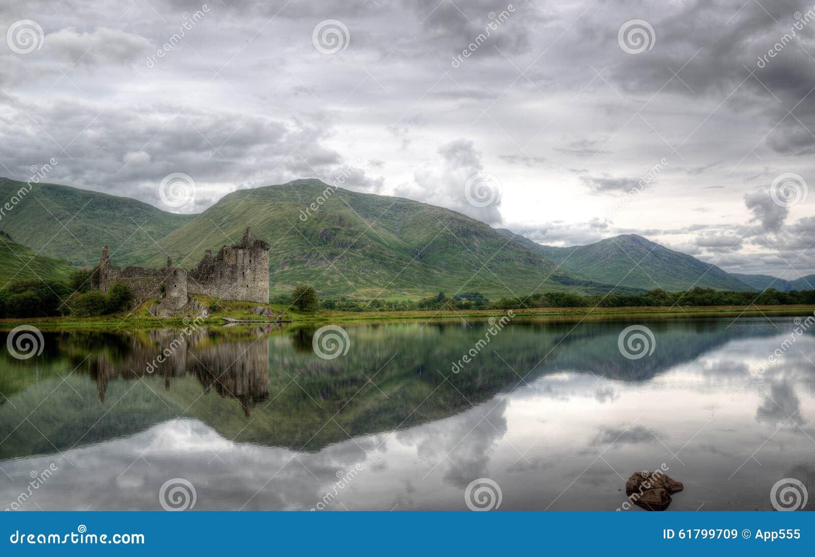 Kilchurn kasztel, Loch respekt, Szkocja