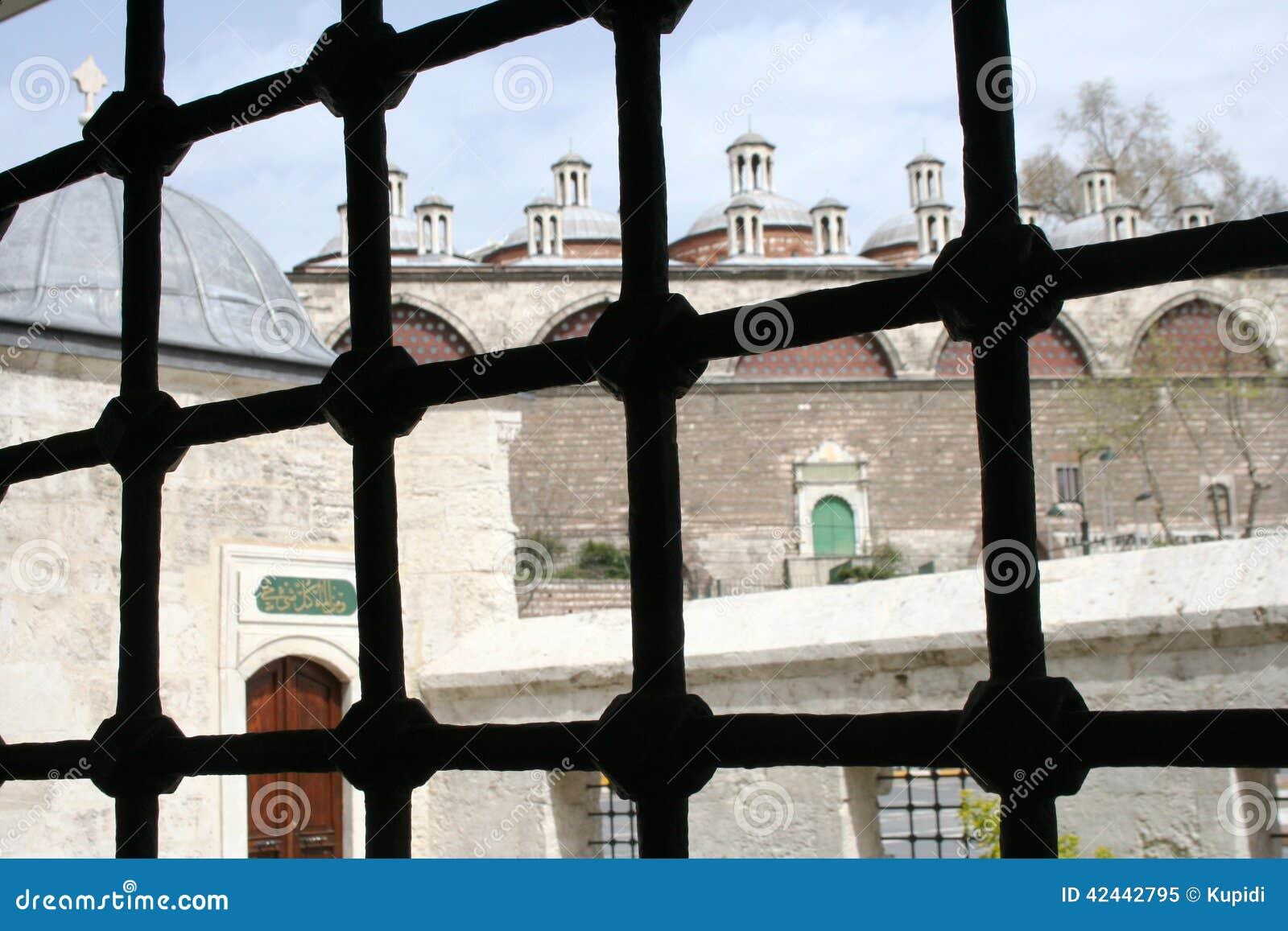 Kilic Ali Pasha Mosque Window