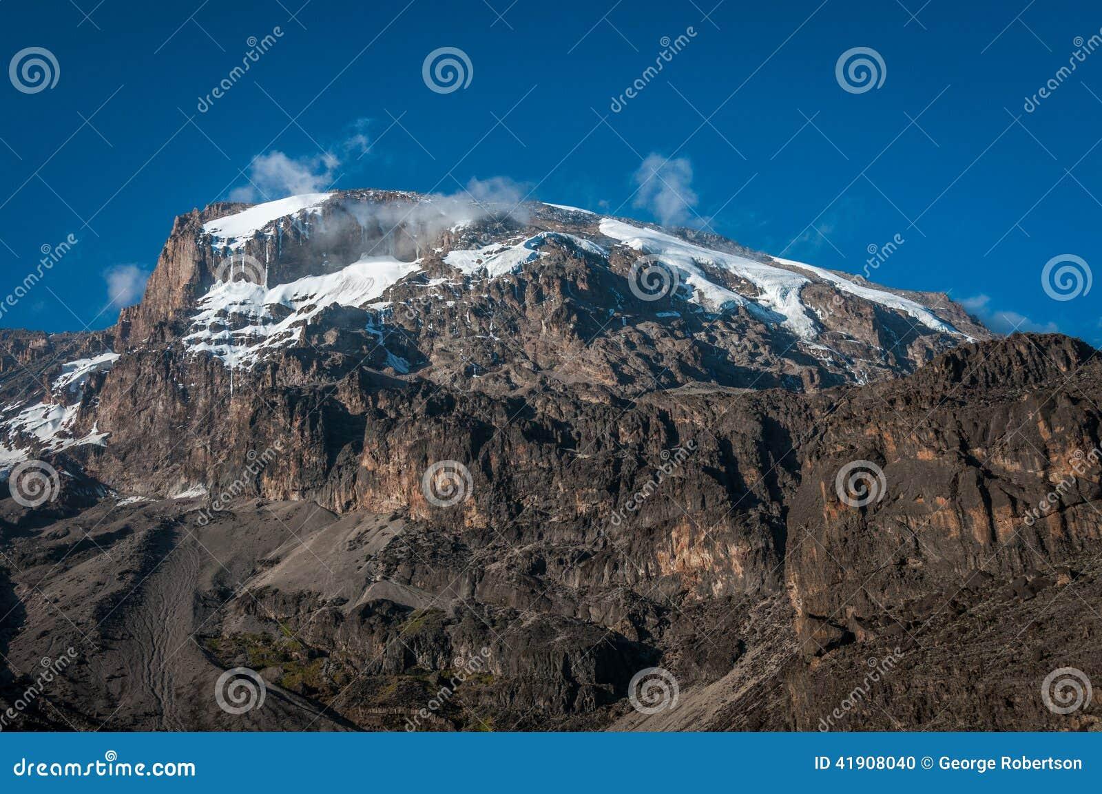 Kilimanjaro del sitio para acampar de Barranco