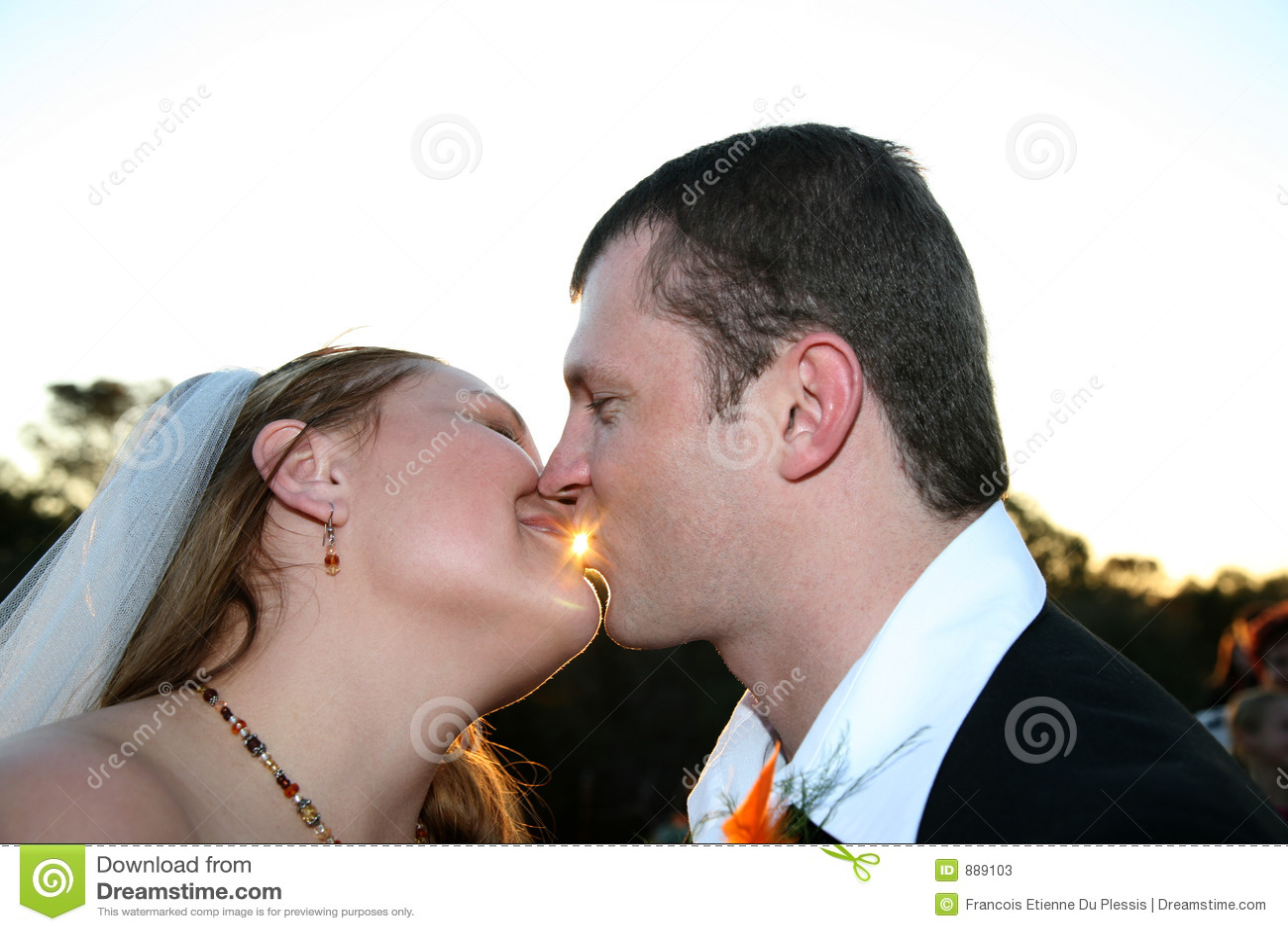 Kilka całowania ślub