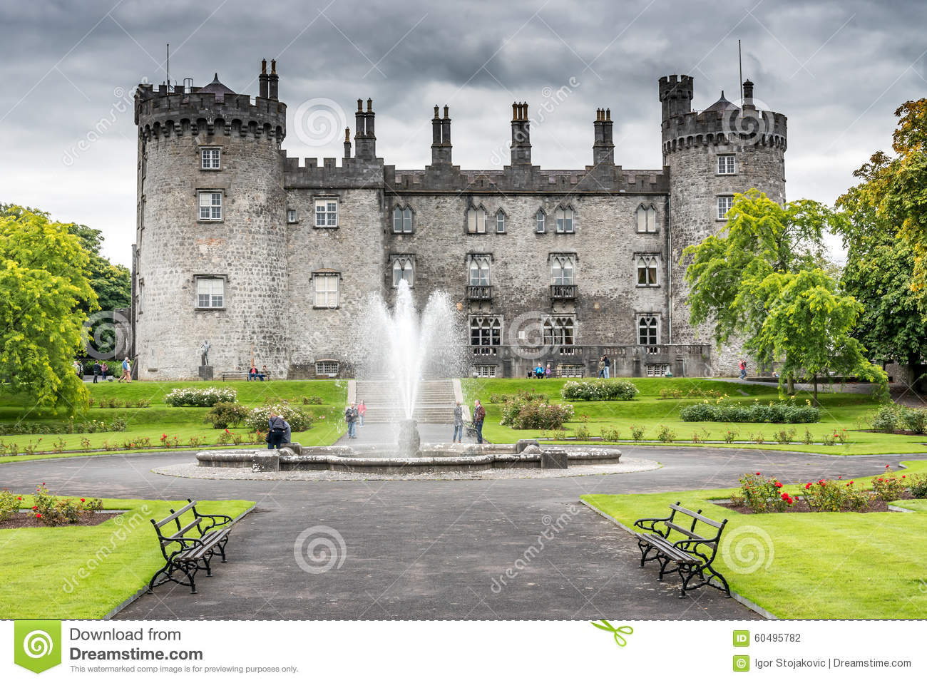 Kilkenny castle editorial photography image 60495782 for Garden design kilkenny