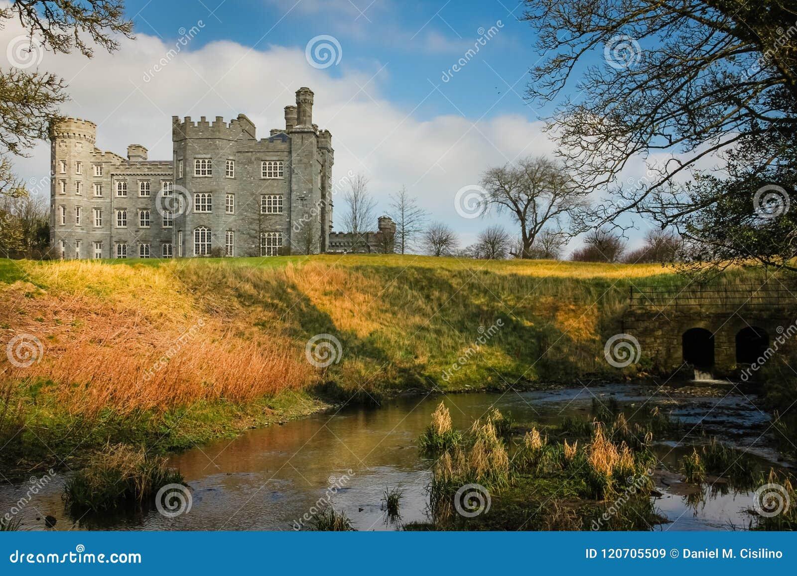 Killeen slott Dunsany ståndsmässiga Meath ireland
