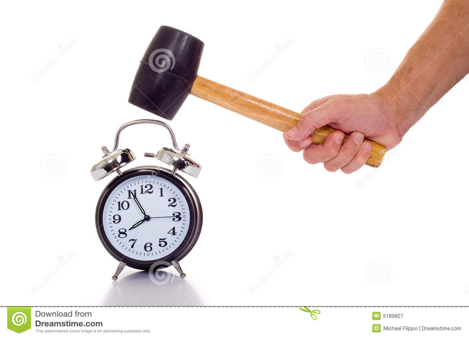 Time Travel Clock Animation