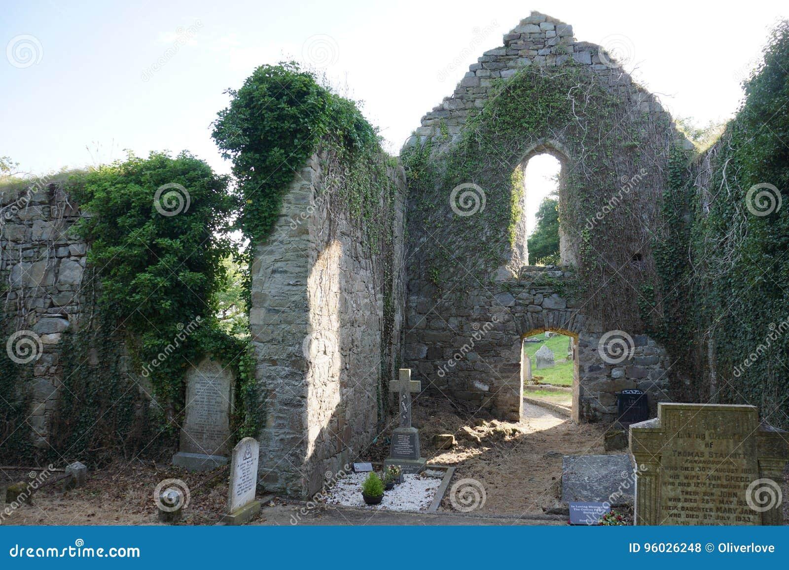 Killydonnell Friary wnętrze