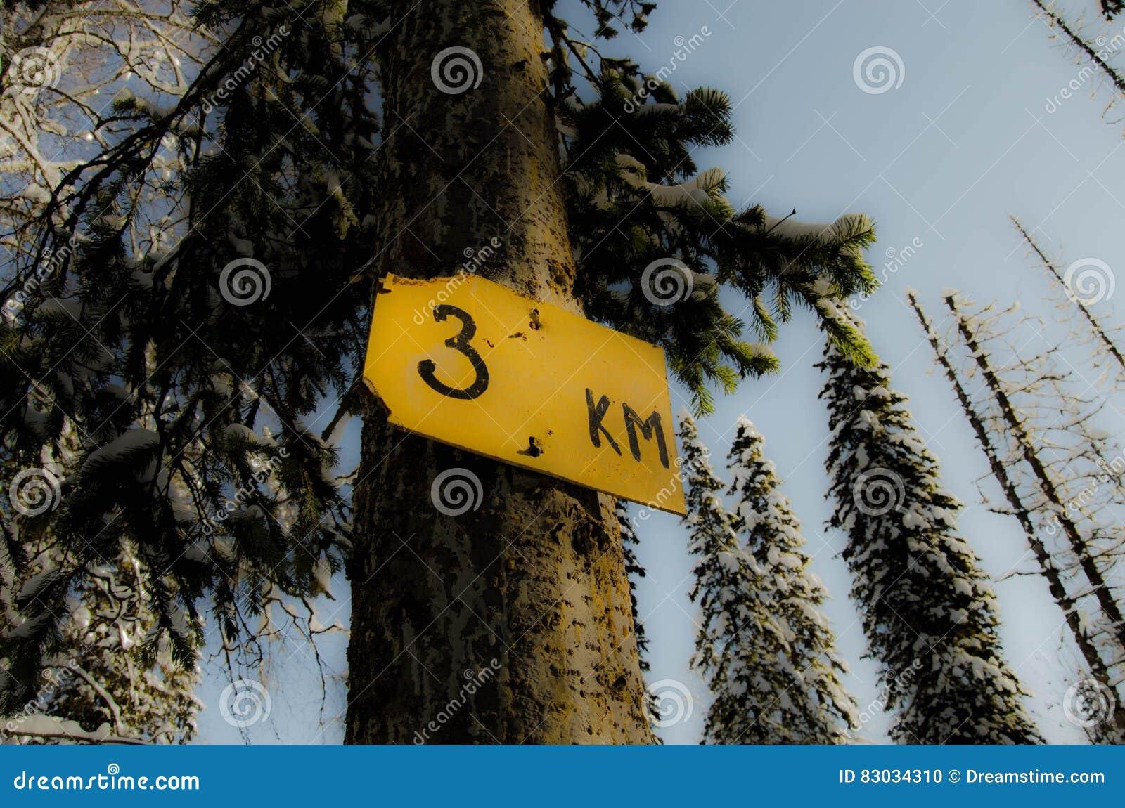 3 kilometers