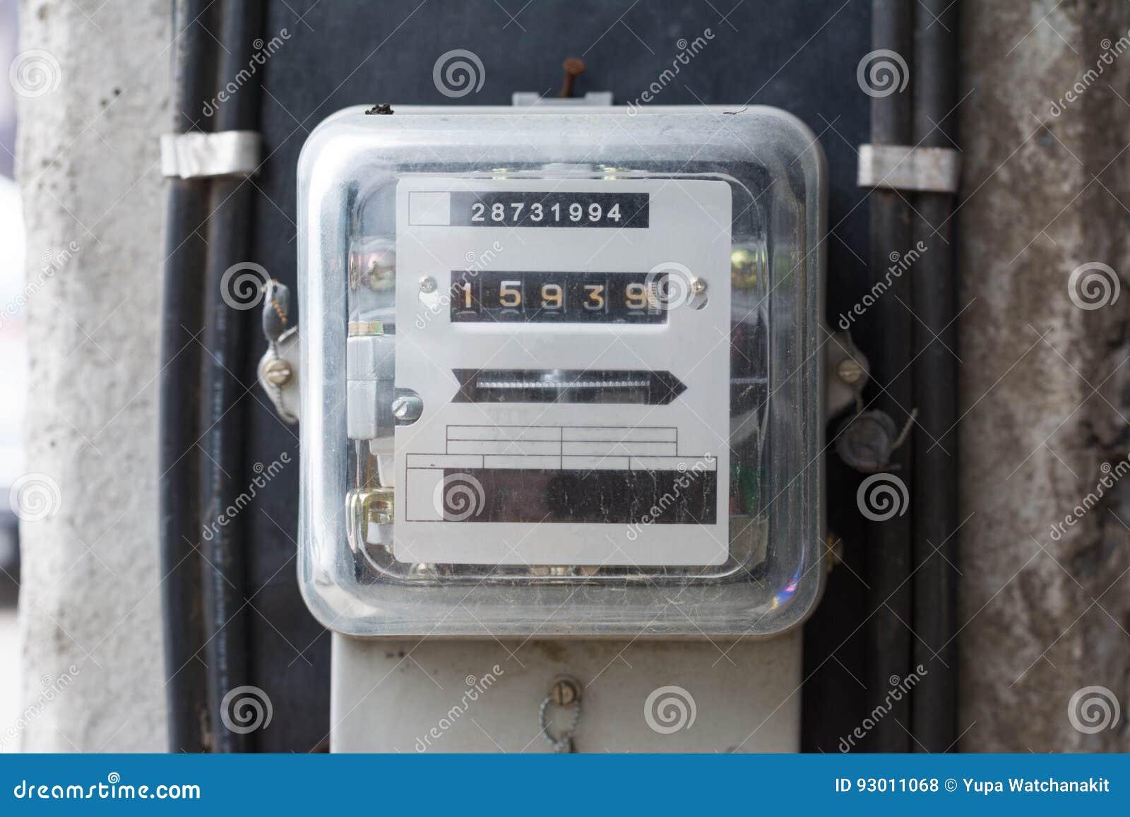 Kilowatt Hour Electricity Meter, Power Supply Meter, Hour Symbol ...