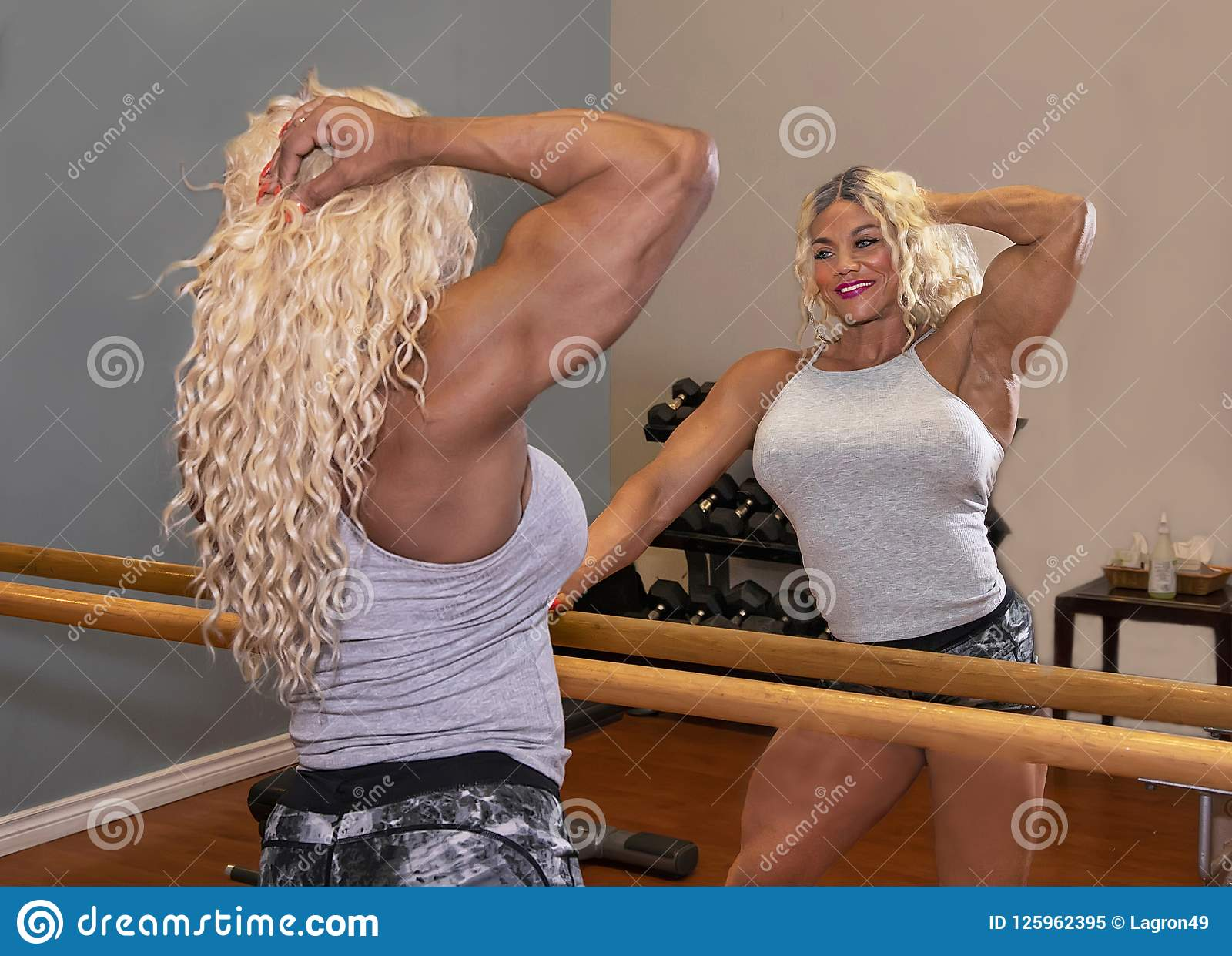 Kim Buck, mujer de tentación Bodybiolder