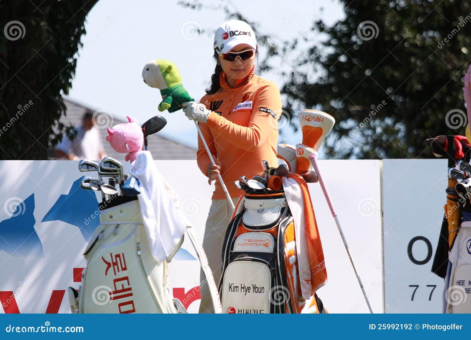Kim Hye Youn på golf Evian styrer 2012