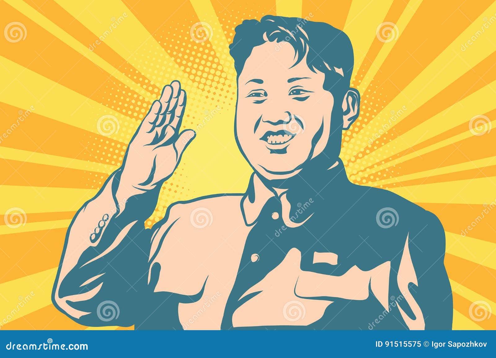 Kim UN lider Północny Korea