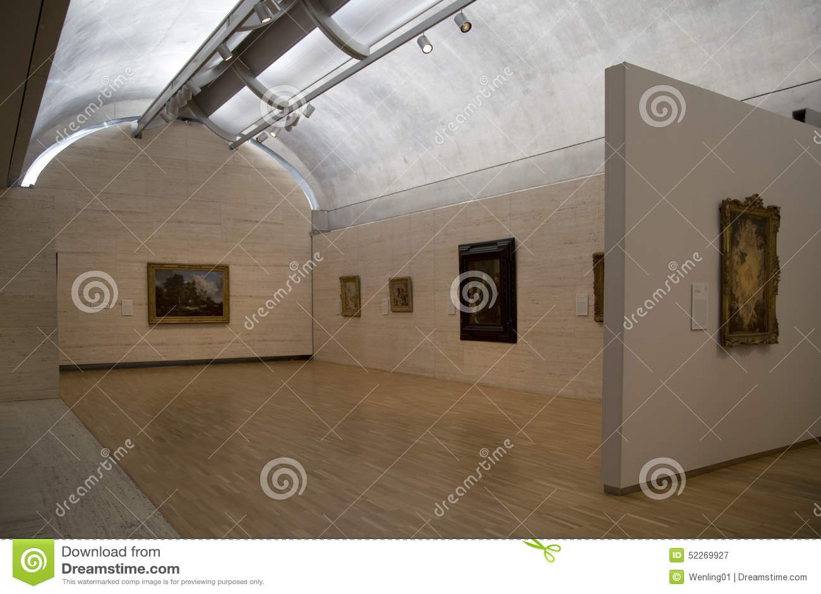Kimbell博物馆在沃思堡