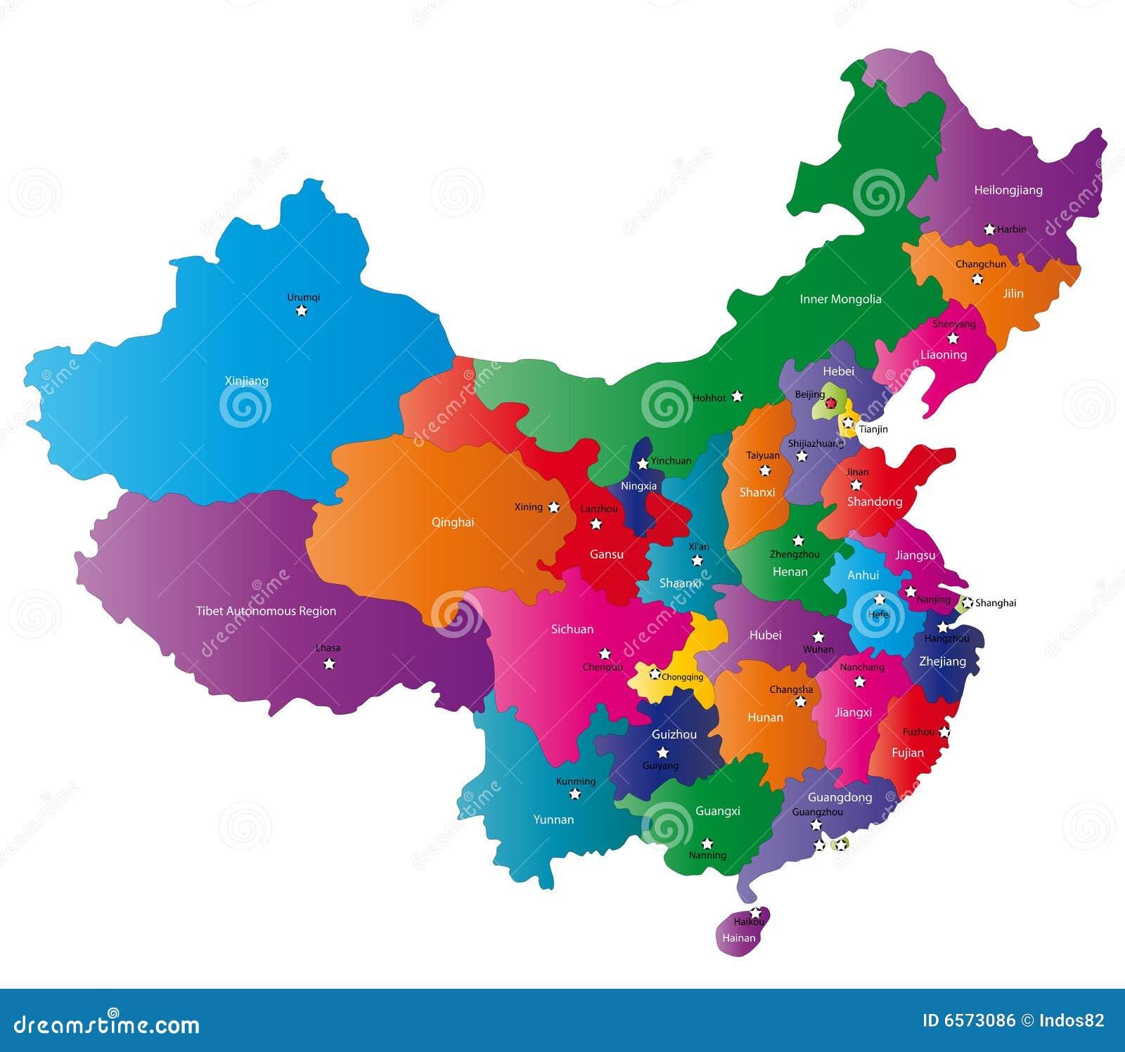Kina översikt