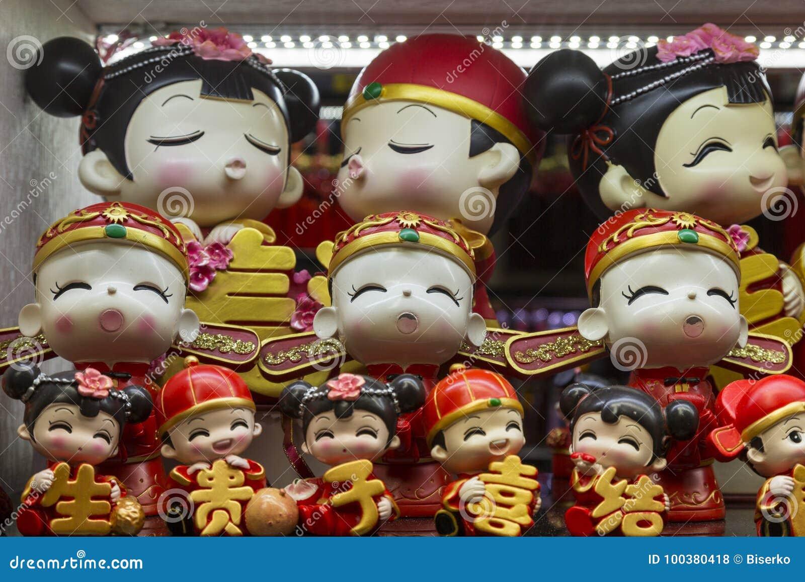 Kina dockor