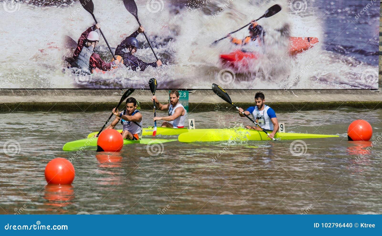 Kina Shanghai Jingan Shaoxing kanota maratonvärldscup 2017