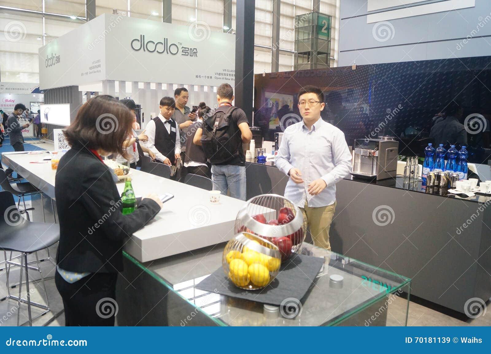 Kina Shenzhen konsumentelektronik och hem- anordningar brännmärker utställning